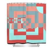 Japanese Lily Shower Curtain