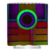 japanese Portal Shower Curtain