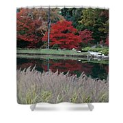 Japanese Serenity Shower Curtain