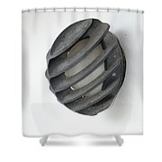 Japanese Shell Lamp Shower Curtain