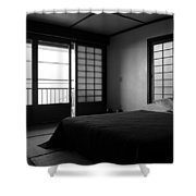 Japanese Style Room At Manago Hotel Shower Curtain