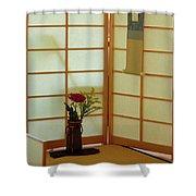 Japanese Tea House Shower Curtain