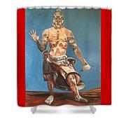 Japanese Templeguard Shower Curtain