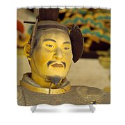 Japanese Warrior Shower Curtain