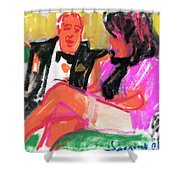 Jacque And Christine Shower Curtain