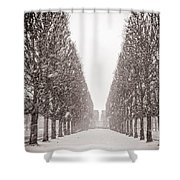 Jardin_du_luxembourg Shower Curtain