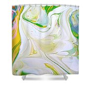 Jasmine Flower  Shower Curtain
