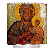 Jasna Gora Shower Curtain