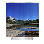 Jasper Alberta Shower Curtain
