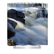 Jasper Falls Closeup Shower Curtain