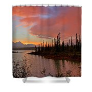 Jasper Glow Shower Curtain