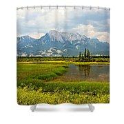 Jasper National Park Shower Curtain