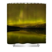 Jasper National Park Dark Sky Show Shower Curtain
