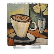 Java Love Shower Curtain