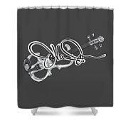 Javonne Autograph Shower Curtain