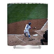 Javy Baez Shower Curtain