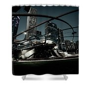 Jay Pritzker Pavilion - Chicago Shower Curtain