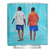 Jay Walkers Shower Curtain