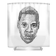 Jay Z Shower Curtain