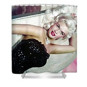 Jayne Mansfield Shower Curtain
