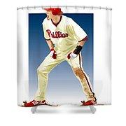 Jayson Werth Shower Curtain