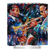 Jazz Brothers Shower Curtain