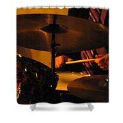 Jazz Drums Shower Curtain