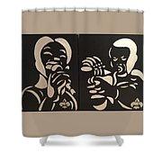 Jazz Duel Shower Curtain