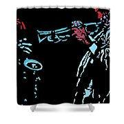 Jazz Duo Shower Curtain