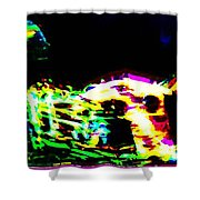 Jazz Horn And The Abstract Truth Shower Curtain