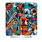 Jazz Magic Shower Curtain