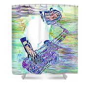 Jazz Melody Shower Curtain
