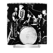 Jazz Musicians, C1925 Shower Curtain