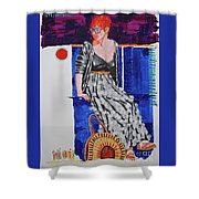 Jazz On The Square Shower Curtain