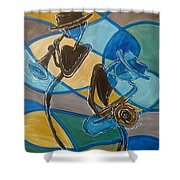 Jazz Raz Shower Curtain