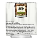 Jc Licht Arborcoat Solid Stain Shower Curtain