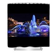 J.c.nichols Fountain-9802b Shower Curtain