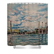 J.c. Weadock Plant Shower Curtain