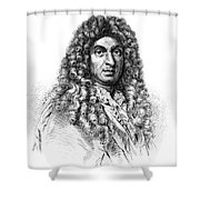 Jean-baptiste Lully, French Composer Shower Curtain
