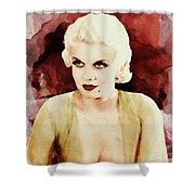 Jean Harlow Shower Curtain