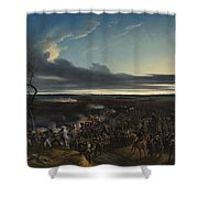Jean Horace Vernet   The Battle Of Montmirail Shower Curtain