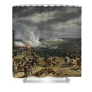 Jean Horace Vernet   The Battle Of Valmy Shower Curtain