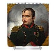 Jean Horace Vernet   The Emperor Napoleon I Shower Curtain