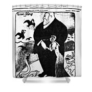 Jean L�on Jaur�s (1859-1914) Shower Curtain