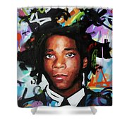 Jean, Michel, Basquiat II Shower Curtain