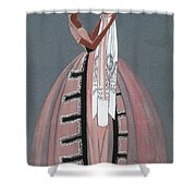 Jeanne Lanvin Design, 1925 Shower Curtain
