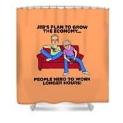 Jeb Bush Shower Curtain