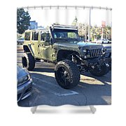 Jeep Custom Shower Curtain