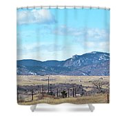 Jeep Territory Shower Curtain