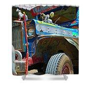 Jeepney Shower Curtain